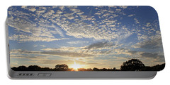 Spectacular Sunset England Portable Battery Charger