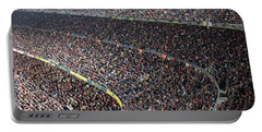 Spectators In The Stadium Watching Sports Portable Battery Charger by IPics Photography