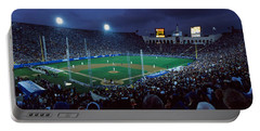 Spectators Watching Baseball Match, Los Portable Battery Charger