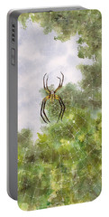 Spider In Web #2 Portable Battery Charger
