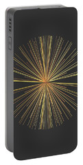 Portable Battery Charger featuring the digital art Spikes... by Tim Fillingim