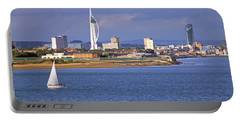 Spinnaker Tower And Gunwharf Quays Portable Battery Charger