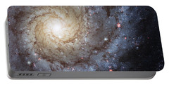 Spiral Galaxy M74 Portable Battery Charger by Adam Romanowicz
