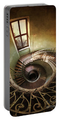 Spiral Staircaise With A Window Portable Battery Charger
