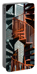 Spiral Stairs - Color Portable Battery Charger