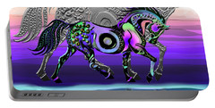 Spirit Horse Portable Battery Charger by Michele Avanti