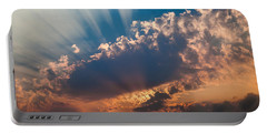 Portable Battery Charger featuring the photograph Spirit In The Sky by Jack Bell