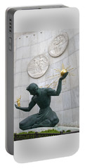 Spirit Of Detroit Monument Portable Battery Charger