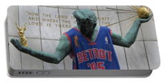 Spirit Of Detroit Piston Portable Battery Charger