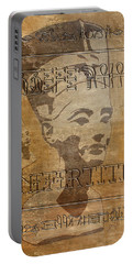 Spirit Of Nefertiti Egyptian Queen   Portable Battery Charger