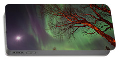 Portable Battery Charger featuring the photograph Spirits Of The Night    by Doug Gibbons