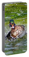 Splashdown - Wood Duck Portable Battery Charger