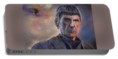 Spock Portable Battery Charger by Peter Suhocke