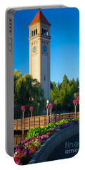 Spokane Clocktower Portable Battery Charger