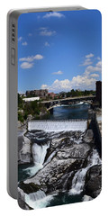 Spokane Falls And Riverfront Portable Battery Charger