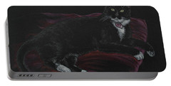 Spooky The Cat Portable Battery Charger