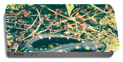 Spotted Salamander Retro Portable Battery Charger