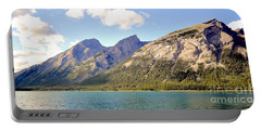 Spray Lake Mountains Portable Battery Charger