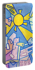 Summer In The City #2 Portable Battery Charger