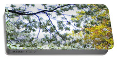 Spring Blossoms Portable Battery Charger by Michelle Calkins
