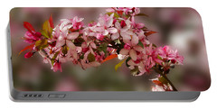 Cheery Cherry Blossoms Portable Battery Charger