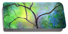 Spring Catawba Tree Portable Battery Charger by Jodie Marie Anne Richardson Traugott          aka jm-ART