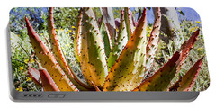 Spring Color In The Desert Portable Battery Charger