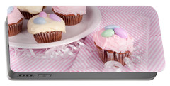 Cupcakes With A Spring Theme Portable Battery Charger by Vizual Studio