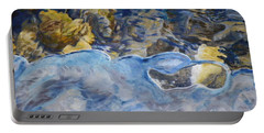Portable Battery Charger featuring the photograph Spring Drawing A Line In The Ice  by Brian Boyle