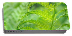 Spring Fern Portable Battery Charger