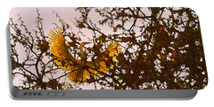 Portable Battery Charger featuring the photograph Spring Flight by Melinda Hughes-Berland