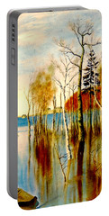 Spring Flood Portable Battery Charger by Henryk Gorecki