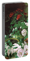 Spring Flowers Study Of Monet Portable Battery Charger