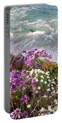 Spring Greets Waves Portable Battery Charger by Susan Garren