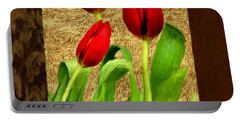 Spring Hues Portable Battery Charger by Lourry Legarde