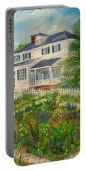 Spring In Colonial Williamsburg- Cole House Portable Battery Charger