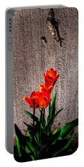 Spring In The City Portable Battery Charger