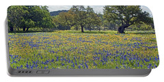 Spring In The Texas Hill Country Portable Battery Charger