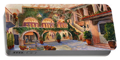 Spring In Tlaquepaque Portable Battery Charger by Marilyn Smith
