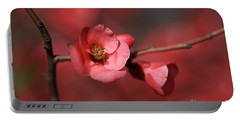 Spring Richness - Flowering Quince Portable Battery Charger
