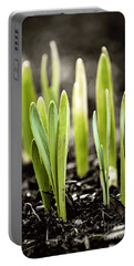Spring Shoots Portable Battery Charger