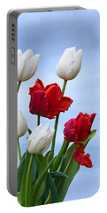 Spring Tulips Portable Battery Charger by Jane McIlroy