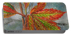 Spring Virginia Creeper Portable Battery Charger