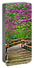 Spring Walk - Paint Rendering Portable Battery Charger