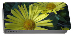 Spring Yellow  Portable Battery Charger