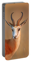 Springbok  Portrait Portable Battery Charger
