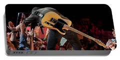 Springsteen In Charlotte Portable Battery Charger