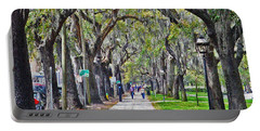Springtime In Savannah Portable Battery Charger by Lydia Holly