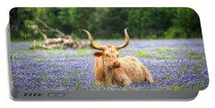 Springtime In Texas Portable Battery Charger