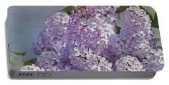 Springtime Lilacs Portable Battery Charger
